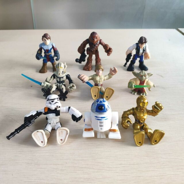 "Lot 5pcs Star Wars Hasbro Jedi Yoda Action figure Movies Game 3.75/"" Toy Random"