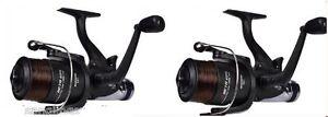 2-x-6000-BETA-Freespool-Shakespeare-Carp-Fishing-mulinelli-esche-Interruttore