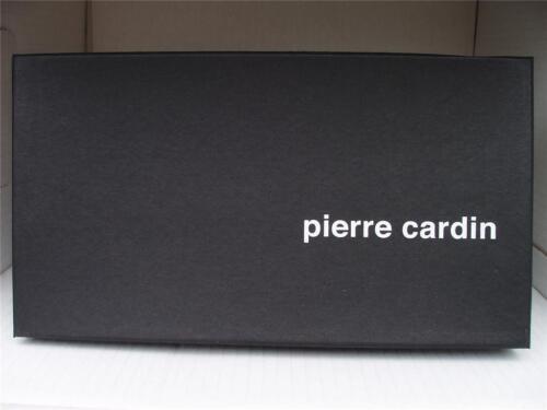 Pierre Cardin MEN SOFT LEATHER WALLET BLK 9 SLOTS 2 ID 2 NOTES 8783
