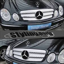 MERCEDES BENZ W211 E-Klasse 2002-2006  KÜHLERGRILL GRILL IN CHROM SILBER
