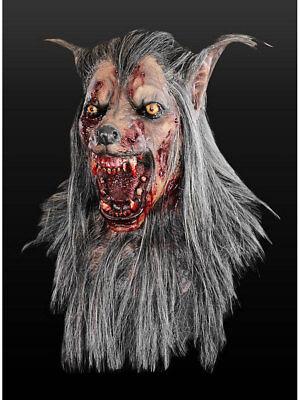 """Maske für Erwachsene /""""Werwolf/"""" Deluxe Latex Universalgröße Horror Kostüm"""