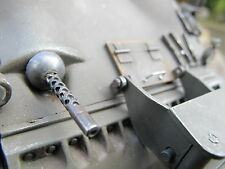 Bug MG Cal 30mm Sherman RC Panzer Tank Metall Umbau Bausatz Kit Zubehör 1/16