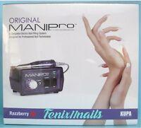 Kupa Original Mani-pro Electric Filing Machinehandpiece & Razzberry Control Box