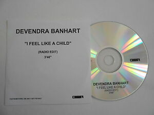 DEVENDRA-BANHART-I-FEEL-LIKE-A-CHILD-CD-SINGLE-PORT-GRATUIT
