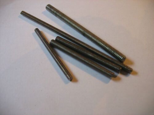 "10mm X 1.5 Threaded Stud Steel    3/""  Long 4 Pcs ---FREE SHIPPING"