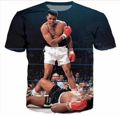 2016 Cool Women/Men's Muhammad Ali 3D Print Casual T-Shirt AN19