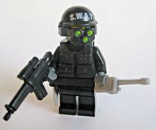 Lego SWAT Special OPS Custom Minifigure Brickforge Night Vision