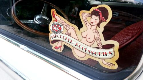 Pin Up sticker AAC sticker Aircooled Accessories decal VW Volkswagen AAC100