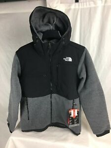 NEW-THE-NORTH-FACE-DENALI-2-HOODY-JACKET-FLEECE-CHARCOAL-INSULATED-MENS-S-XXL