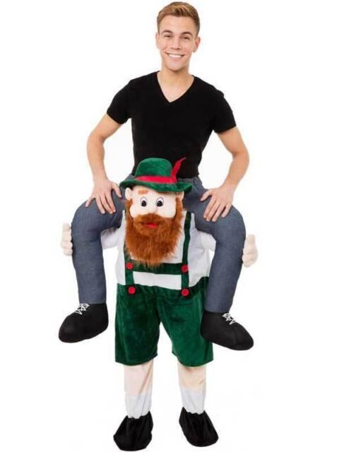Hot Mascot New Fancy Dress Costume Halloween Guy Ride On Oktoberfest Fancy Gifts