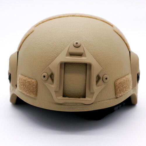 Details about  /Made With Kevlar NIJ IIIA Level Bulletproof Tactical Ballistic Helmet w//Cover