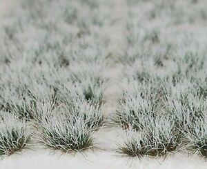 4mm Miniature Scenery//Terrain Self Adhesive Static Grass Tufts Two-Tone Green