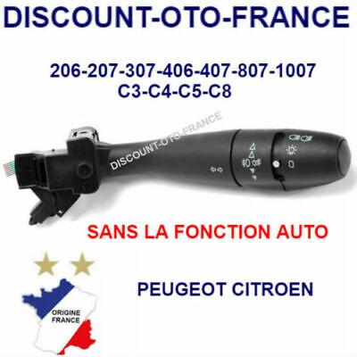 Commodo Peugeot Citroën 1007 206 207 307 406 407 807 Phare Automatique