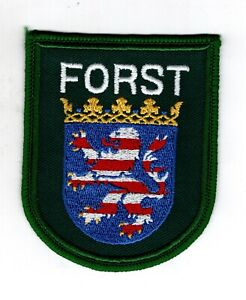 Uniform-Sleeve-Badge-Sew-On-Patch-Patch-Forst-Hesse
