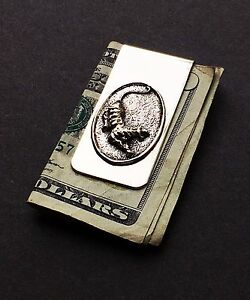 Grateful Dead - Tiger Money Clip in Nickle Silver & White Brass