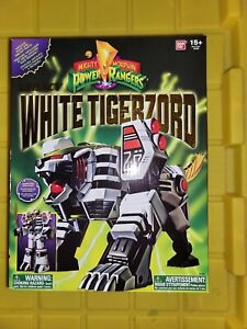 Bandai Mighty Morphin Power Rangers Legacy White Tigerzord