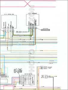1979 Cadillac Seville Foldout Color Wiring Diagram ...