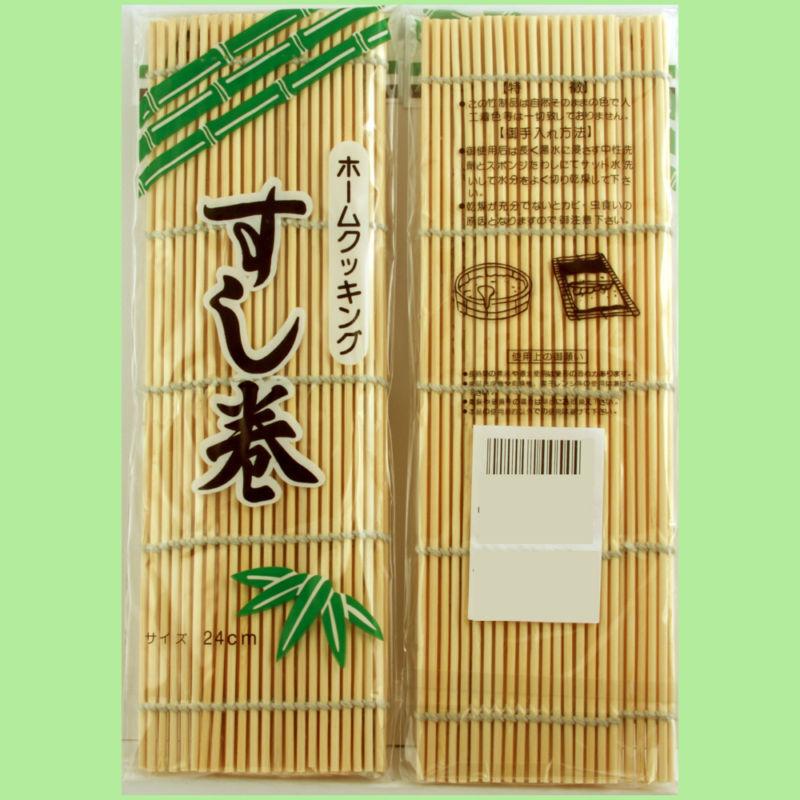 Bambou 50 Pièces Sushi Tapis Original Makisu 9 1 2  x 8 1 4