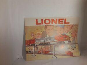 Lionel-post-war-model-trains-o-scale-1960-catalog