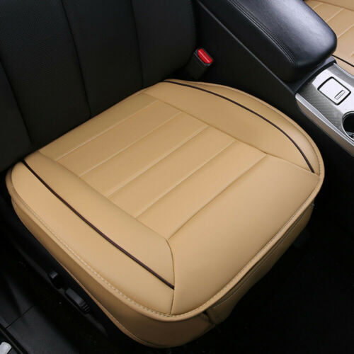 Deluxe Car Seat Cover PU Leather Full Surround Pad Mat for Auto Chair Cushion