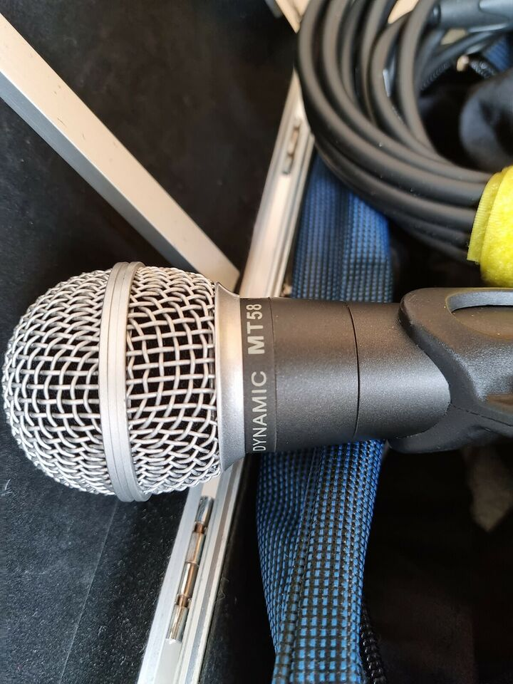 Mikrofoner, Dynamic MT58