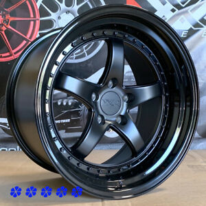 2015 Mustang Xxr 570 Wheels >> Details About Xxr 565 Wheels 18 X9 5 10 5 20 Flat Black Staggered 5x4 5 98 Ford Mustang Cobra