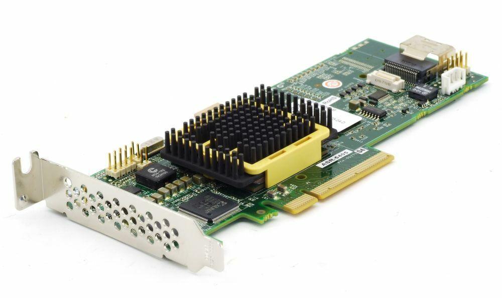 Adaptec Asr-5405/256mb Low Profile SAS HDD Raid Controller Card Pcie x8