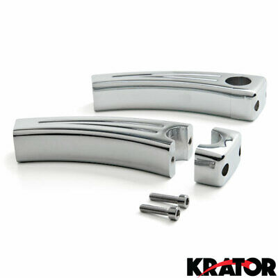 "1/"" Handlebar 3.5/"" Risers For Harley Davidson Softail Heritage Classic"