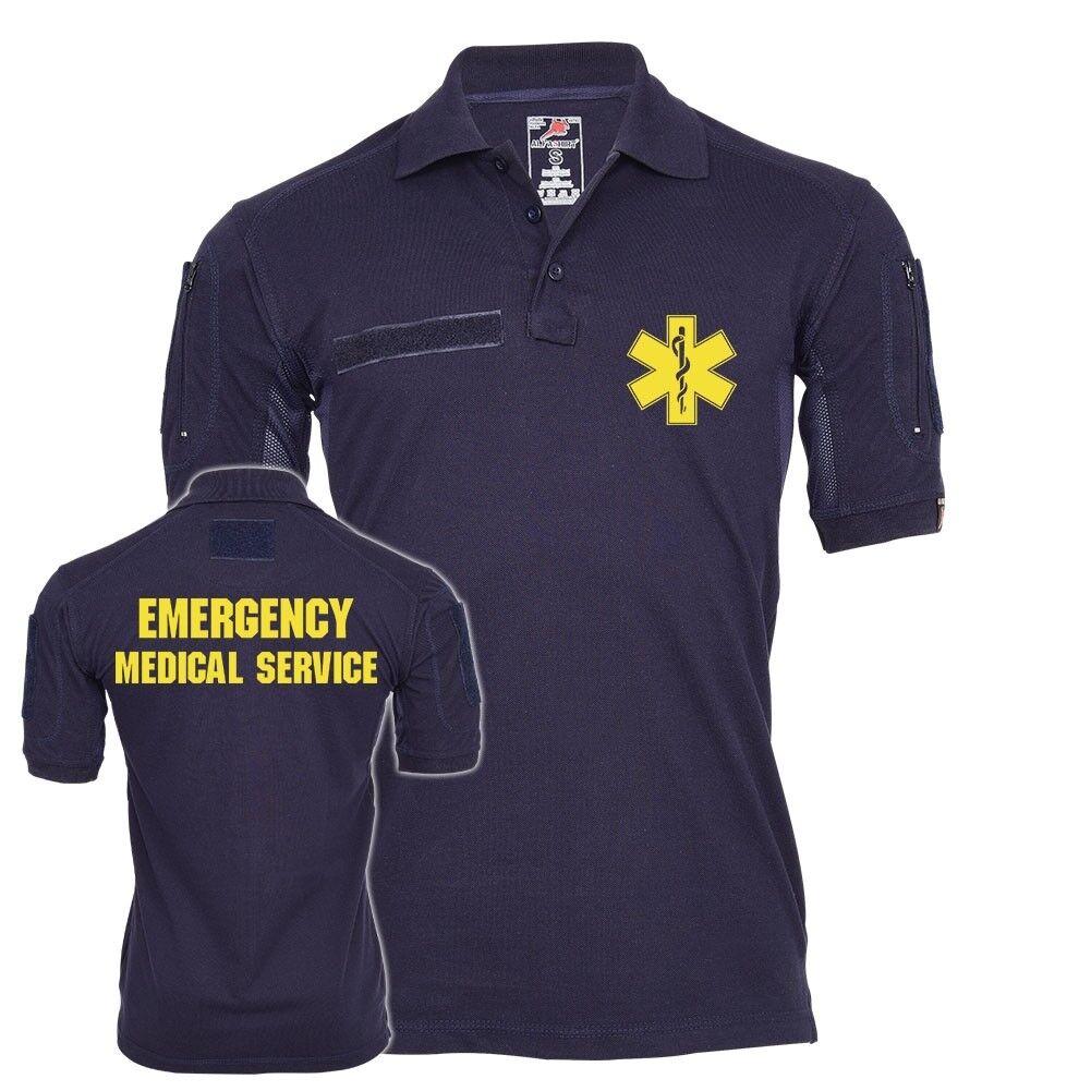Tactical Polo Emergency Medical Service EMS Notarzt Arzt Lebensretter