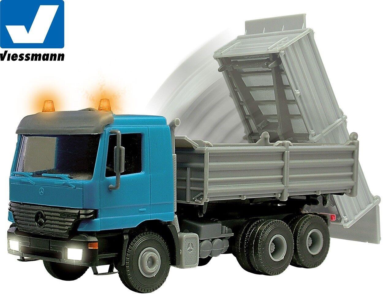 Viessmann H0 5171 Dúmper MB Actros   Luz de Intermitente   Iluminación  Nuevo +