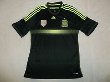 NWOT SEWN SPAIN 2010 WORLD CUP CHAMPIONS ADIDAS SOCCER JERSEY MENS L LARGE READ!