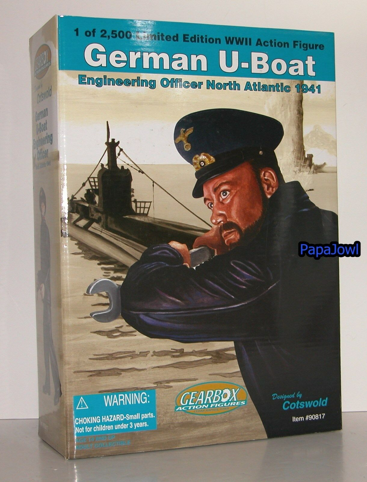 Gearbox Cotswold WWII 1941 German Navy U-Boat Engineering Officer Atlantic 12