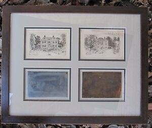 Image is loading ANTIQUE-1887-ETCHINGS-&-PLATES-W-GOODRICH-BEAL- & ANTIQUE 1887 ETCHINGS \u0026 PLATES W GOODRICH BEAL CAMBRIDGE MA ...