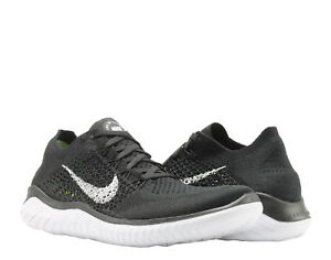 cc26cada1afdd Nike Free RN Flyknit 2018 Black White Men s Running Shoes 942838-001 ...
