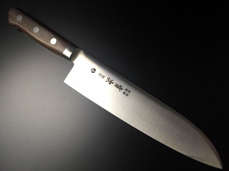 Japonaise couteau de cuisine ARITSUGU AUS-10 acier date 210 mm 8.26  AT159s Fourreau