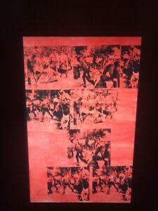 "Andy Warhol ""Red Race Riot"" Pop Art 35mm Glass Slide"
