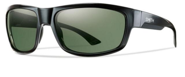 f0bbf96938 NEW Smith Dover Sunglasses-Black-Chromapop Grey Polarized-SAME DAY SHIPPING!