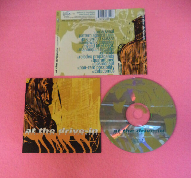 CD AT THE DRIVE-IN Relationship Of Command 2000 Europe GRAND ROYAL no lp (CS43)