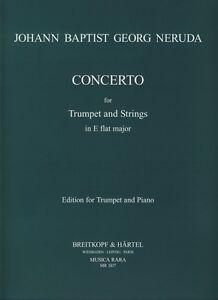 Neruda Concerto Eb Bb Trompette-afficher Le Titre D'origine Haute Qualité Et Bas Frais GéNéRaux