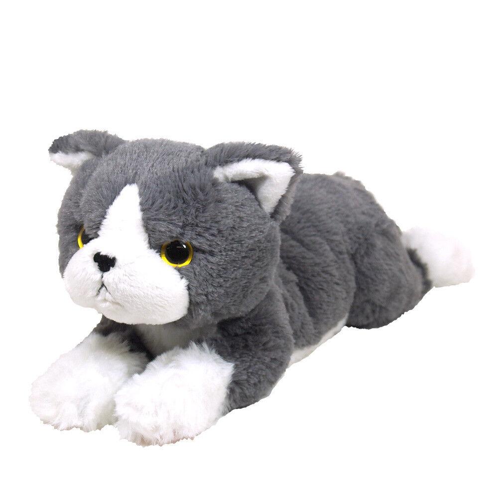 Cuddler Kitten Soft Plush (Exotic Short Hair Grey) cute & realistic (S)