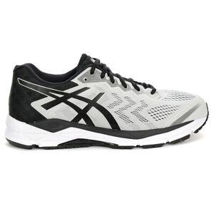 ASICS Men's Gel-Fortitude 8 Glacier Grey/Black Running Shoes T816N.020 NEW