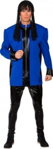 Herren Kostüm 80er Jahre Jacke blau Karneval Fasching Orl