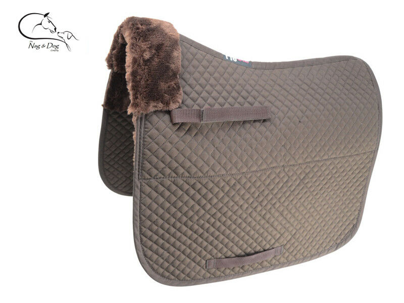 HY Speed Fleece Lined Quilted Dressage GP Saddlecloth Pad  Square FREE P&P  hastened to see
