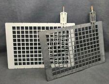 2 Hoefer Gel Electrophoresis Grey Black Electrode Panel For Te42 Transfer Tank