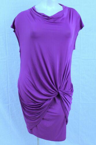 D8i Flirty Seven7 Lane Bryant Short Sleeve 18 20 Dress Lilac Shade