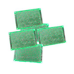 5pcs 4x6 cm Double Side Prototype PCB Tinned Universal Bread board 4 x 6 FR4 889787994982
