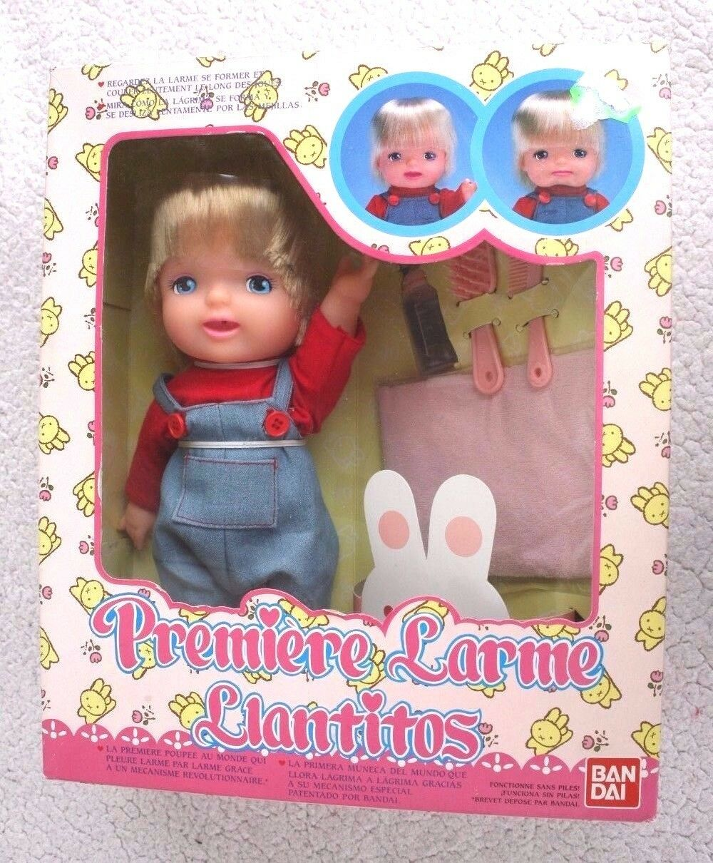 PREMIERE LARME DOLL (LLANTITOS). FIRST REAL CRYING IN THE WORLD  BANDAI 90´S, BN