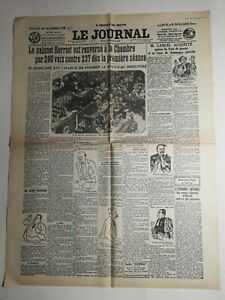 N359-La-Une-Du-Journal-Le-journal-22-juillet-1926-monsieur-Lancel-acquitte