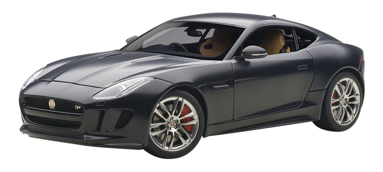 73652 Jaguar F-Type R Coupe Matt Black, 1 18 autoart