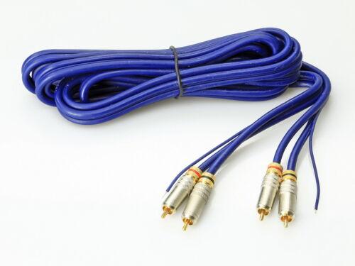 Cable de alta calidad 3,5m cable cinch 3 veces blindado *